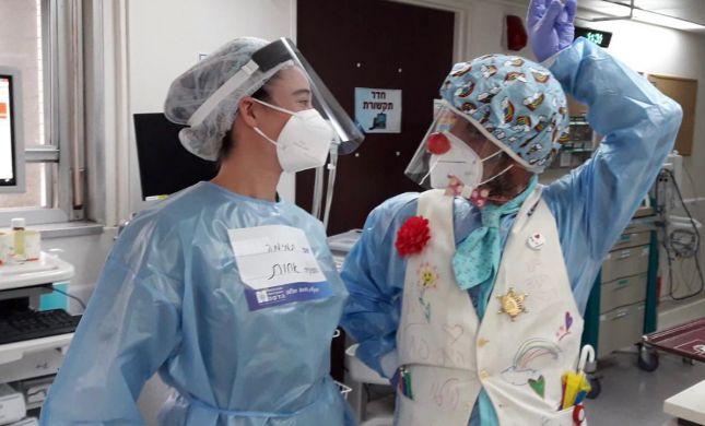 צחוק בצד: הליצנים הרפואיים במחלקות הקורונה