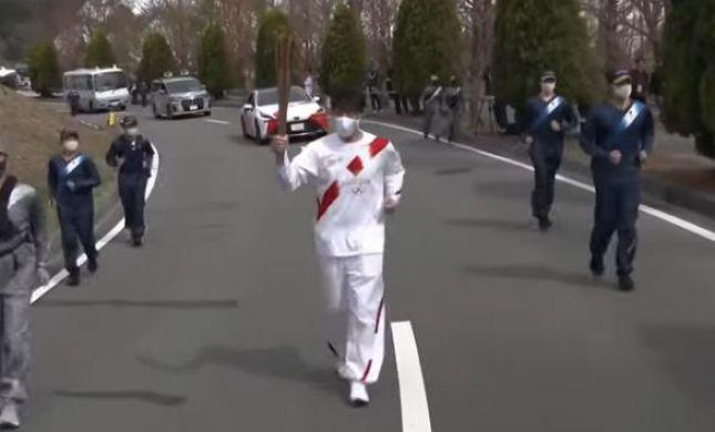 יגיע הפעם ליעד? הלפיד האולימפי בדרך לטוקיו
