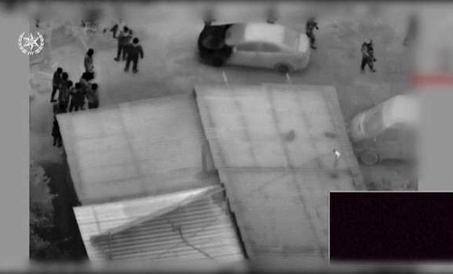 צפו: כך נעצרו הגנבים שחטפו נשק מלוחם אגוז