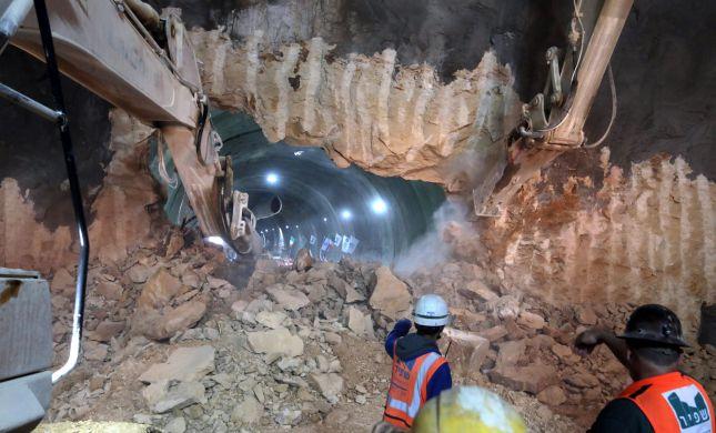 צפו: כך נפרצה המנהרה החדשה בדרך לירושלים