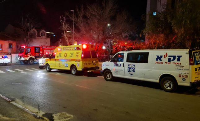 אסון בירושלים: גבר נשרף למוות בשכונת קרית יובל