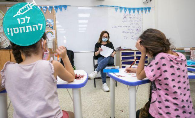 הקלות נוספות בלימודים: הצהרות הבריאות יבוטלו