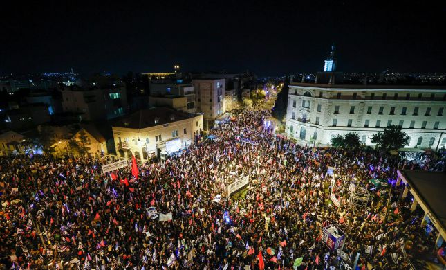 שלושה ימים לבחירות: כ-20 אלף מפגינים נגד נתניהו