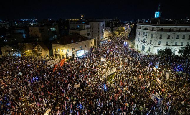 אקורד סיום: מאהל המחאה נגד נתניהו מפורק