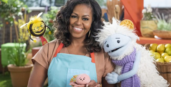 בחסות נטפליקס: מישל אובמה הפכה לכוכבת ילדים