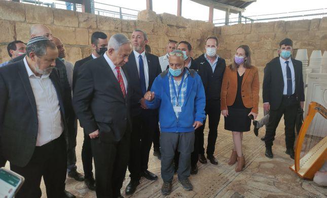 ראש הממשלה ביקר באתר המורשת בסוסיא הקדומה