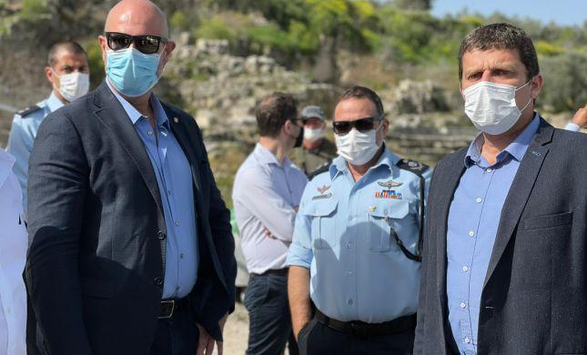 אוחנה: נפעל להקים נקודת משטרה בשומרון העתיקה