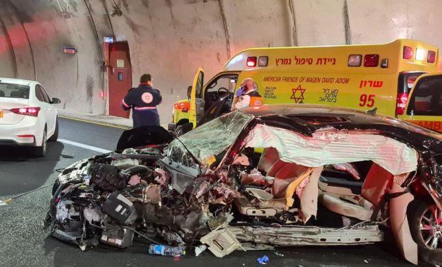 טרגדיה משפחתית בתאונה קטלנית בכביש 6