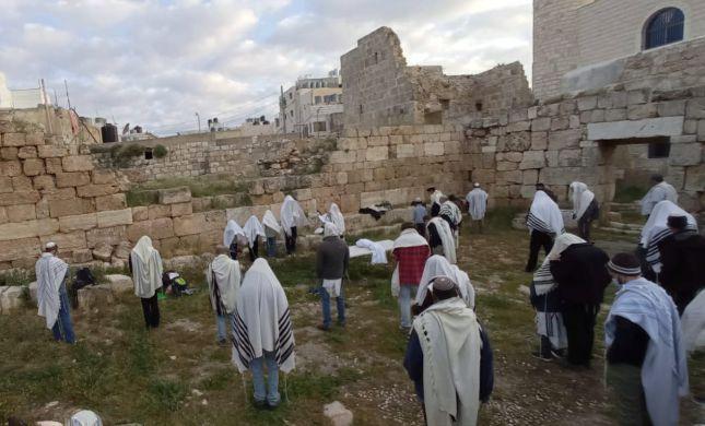 ברכת כהנים בעיר הכוהנים הקדומה