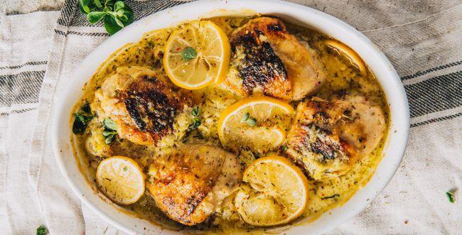 ארוחת שבת בסיר אחד: פרגיות ואורז ברוטב לימוני