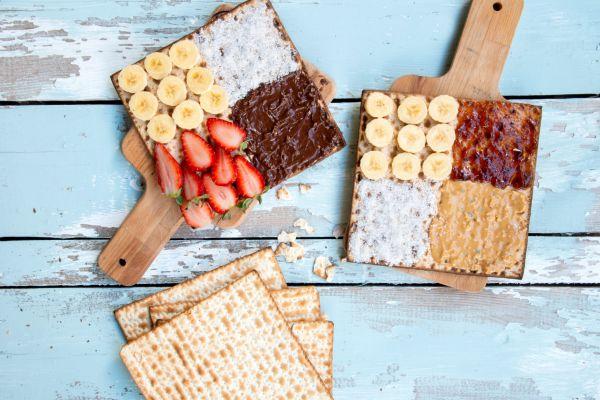 לא רק שוקולד: 7 ממרחים שישדרגו לכם את המצה