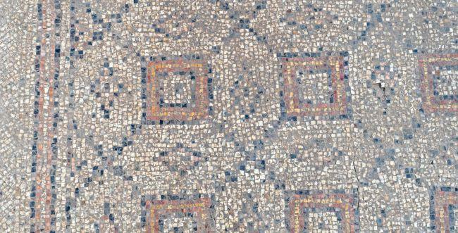 יבנה: פסיפס בן 1,600 שנה יוצג בהיכל התרבות