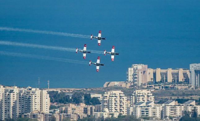"""נערכים למטס חיל האוויר: """"הצדעה לאזרחי ישראל"""""""