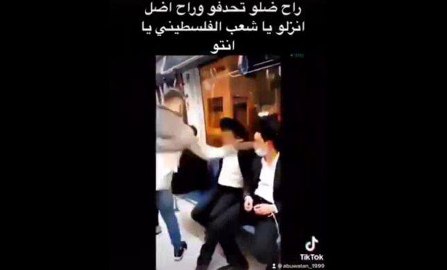 המשטרה עצרה את הנער הערבי שסטר ליהודי ברכבת