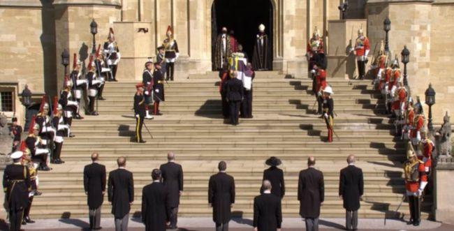 בריטניה נפרדת: הנסיך פיליפ הובא למנוחות