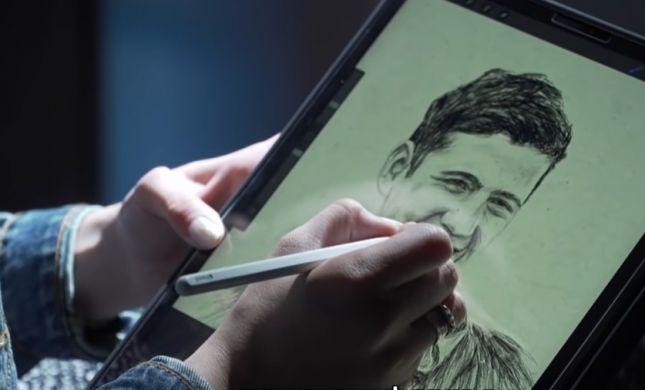 צפו: הסרוגה שמציירת חללים ושולחת למשפחות