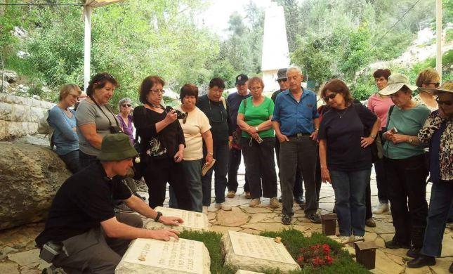 """""""בזכותם"""": סיורי הנצחה ללא עלות לכבוד יום הזיכרון"""