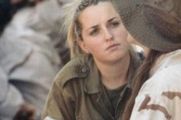 אשלי וקסמן בקשי עלתה לישראל במלחמת לבנון השניה