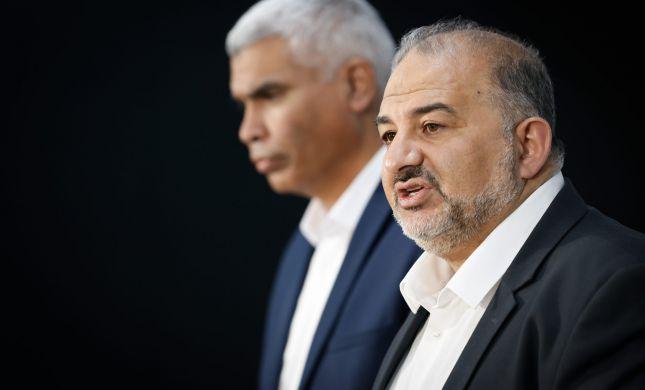 ממשלה הנתמכת על ידי ערבים?! זה חילול השם