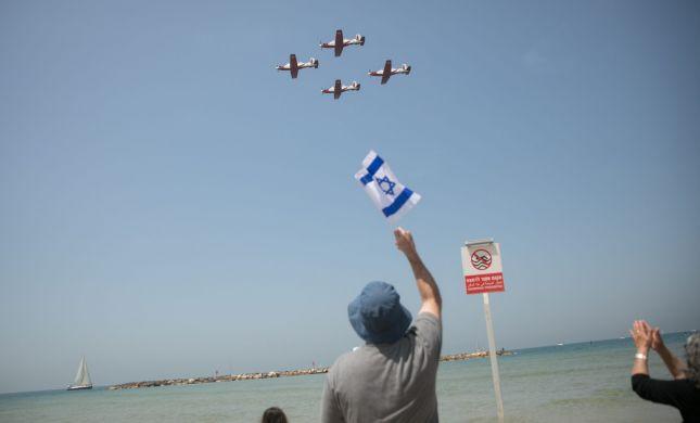 ביבשה, באוויר ובים: עם ישראל חוגג עצמאות