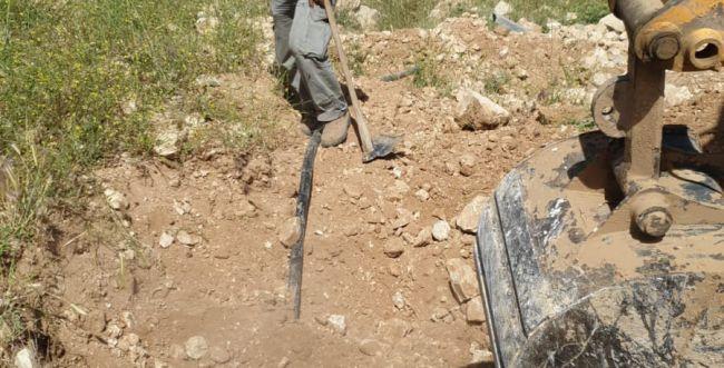 נחשף: חיבור פיראטי לגניבת מים בהר חברון