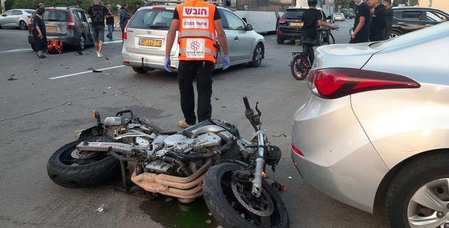 תוך דקות: שני רוכבי אופנוע נהרגו בתאונות דרכים