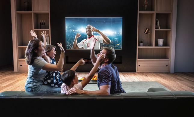 הנאה למשפחה: טלוויזיה ונטפליקס במחיר חד פעמי