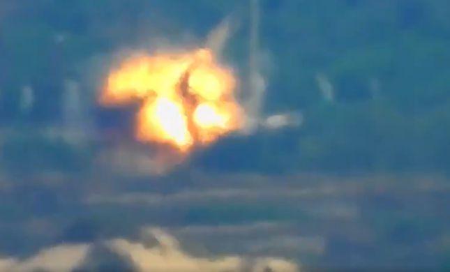 """תיעוד: כך נראה ירי הנ""""ט לעבר טיולית צה""""ל"""