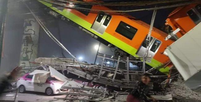 מקסיקו: 20 הרוגים ועשרות פצועים בקריסת גשר