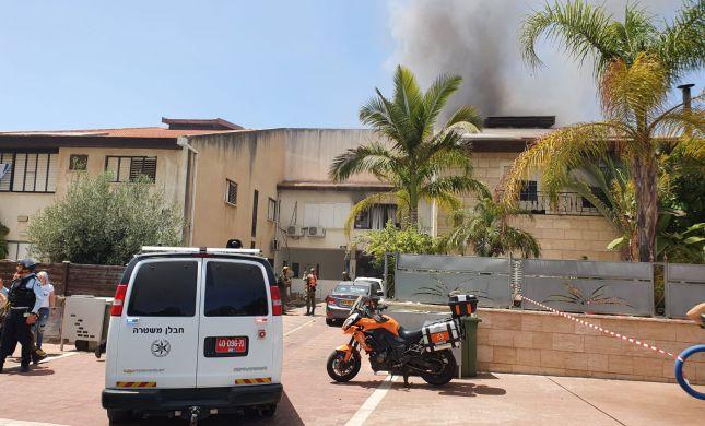 פגיעה ישירה בבית ספר באשקלון: 3 נפגעים בזירה