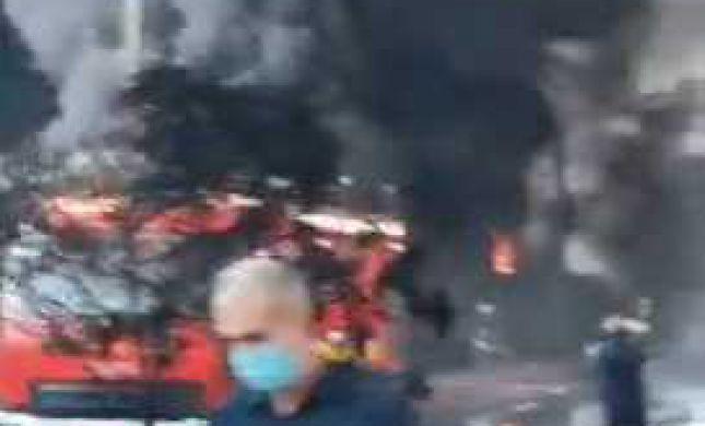 דיווח: הרוג ופצועים בפיצוץ במפעל כימי בדרום איראן