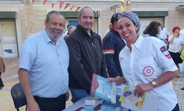 זינוק של 50% במספר נהגי אמבולנס בהר חברון