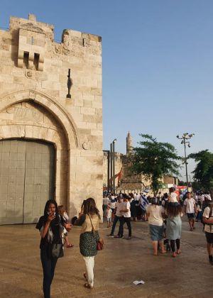 יום ירושלים עצוב: שערי שער יפו נסגרו לכניסה