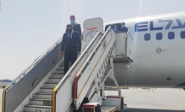לראשונה מזה 13 שנה: שר החוץ הגיע לביקור במצרים