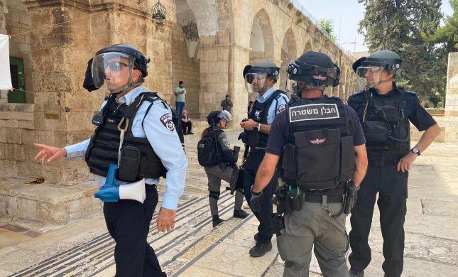 נעצר החשוד בתקיפת השוטר בעימותים בהר הבית
