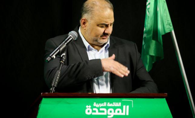 """ברע""""מ זועמים על מנסור עבאס: סוף דרכו הפוליטית"""
