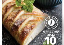 """עוגת בריוש גבינה מפנקת במיוחד של נאמן ב 10 ש""""ח"""