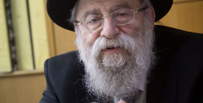 ברוך דיין האמת: אחות של הרב אריה שטרן נפטרה