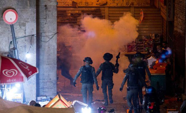 לילה של אלימות: עימותים בשער שכם, רקטה מעזה