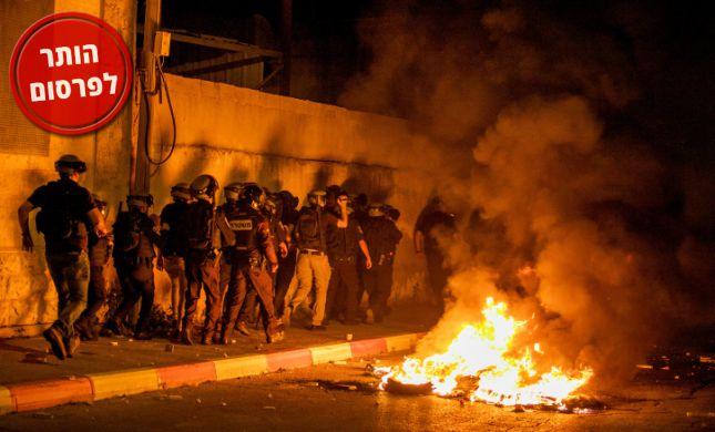 """הבקת""""ב ביפו: ניסו לפגוע ביהודים, פגעו בילד ערבי"""