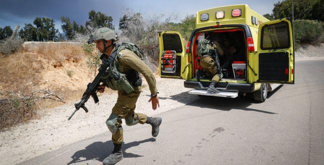 """חמאס ירה טיל נ""""ט לעבר ג'יפ: הרוג ופצוע אנוש"""