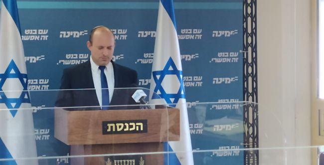 """בנט: """"העם לא יסלח למי שיקח את ישראל לבחירות"""""""