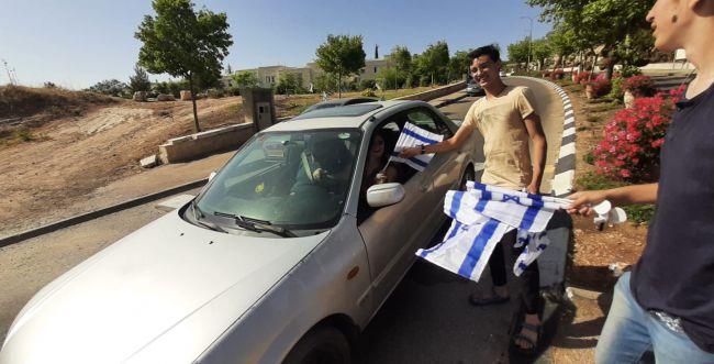 המענה של גוש עציון לתלישת דגל ישראל מרכב