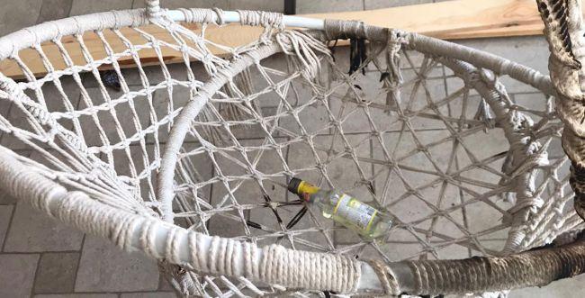 מתקפות ברמלה: פורעים השליכו בקבוקי תבערה
