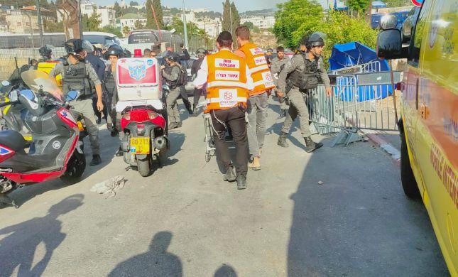 פצועים בפיגוע דריסה בירושלים ליד העיר העתיקה