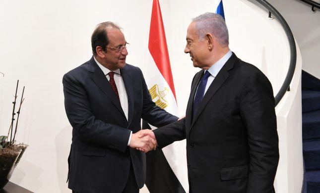 נתניהו נפגש עם ראש המודיעין של מצרים