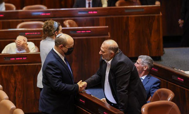 דרש וקיבל: הממשלה נענתה לבקשתו של עבאס