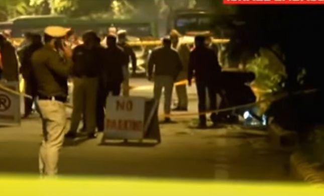 נעצרו 4 חשודים באחריות לפיצוץ בשגרירות בהודו