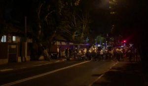 """חדשות, חדשות פוליטי מדיני, מבזקים מחאות מול ביתו של בנט: """"ממשלה של מחבלים"""""""