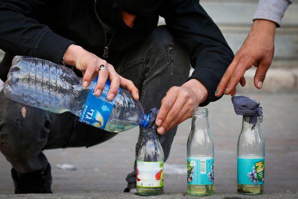 כתב אישום נגד הערבים שזרקו בקבוקי תבערה ביפו